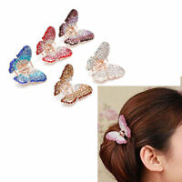 High Women Girls Crystal Plastic Hair Clip Clips Claw Comb Accessories Headwear