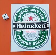 Heineken Sticker Decal Beer Window,bar,bumper 140mm x 115mm