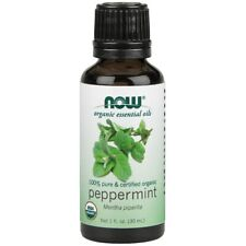 Now Foods Peppermint Oil (Certified Organic) - 1oz Made in USA FREE SHIPPING