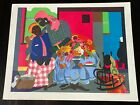 Romare Bearden Morning Pencil Signed Lithograph # 79/175 Limited Edition 1979