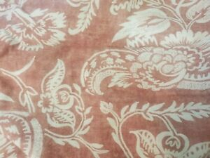 Pottery Barn Alessandra Scroll Percale Terracotta Red Standard Pillow Shams