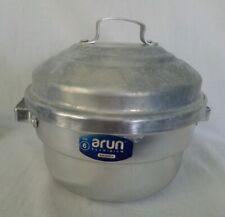 Arun Anodized Aluminum Idly Pani Pan Pot 2 Tray Steam Cooker Size 6