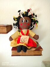 Gambina Doll New Orleans Ninkie African American Cloth Plush