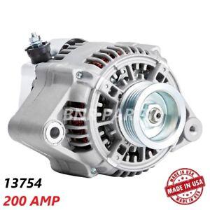 200 AMP 13754 ALTERNATOR Toyota Camry Solara 2.2L High Output Performance HD