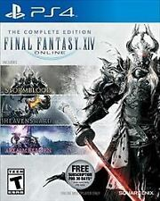 Final Fantasy XIV Online The Complete Edition 3 Games in 1 Pack  PS4 NEW Sealed