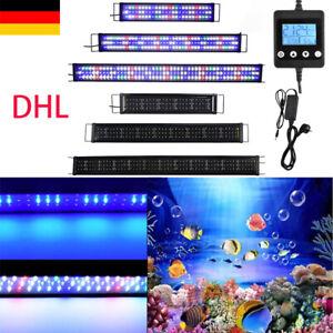 Accessoire d'éclairaged'aquarium à LED Lampe 30-180cm blanc+bleu spectre complet
