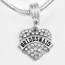 Bridesmaid charm bridesmaid Jewelry Bridesmaid gift Bridesmaid Charm Bridesmaid