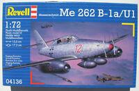 REVELL 04136 - Messerschmitt Me 262 B-1a U1 - 1:72 - Flugzeug Modellbausatz Kit
