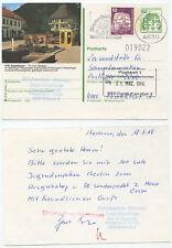 08854 - Ganzsache - Bildpostkarte Eppenbrunn - ZuF - Bochum 18.3.1988