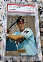 RICHIE SEXSON 1995 Bowman's Best BLUE Rookie Card RC PSA 10 GEM Indians 306 HRs