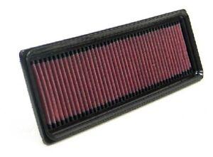 K&N Hi-Flow Performance Air Filter 33-2847 fits Citroen C3 1.6 HDi 90 (FC)