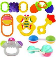 Colorful New Baby Born Rattle Set Toy Intelligence Education Develop for kids Ch