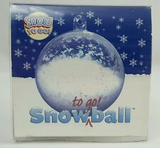 Fake Artificial Fluffy Snow Powder Instant Snow To Go Ball Decor Just Add Water