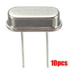 10pcs 16mHz Crystal Oscillators HC49S HC-49S Quartz Low Profile pi SY I6W1 X7S3