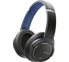 Sony MDR-ZX770BN Active Noise Cancelling Wireless Headphones. Blue Trim.