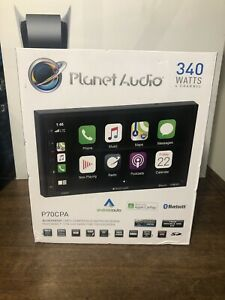 Planet Audio P70CPA Carplay Android Auto Apple CarPlay 2 Din Stereo Touchscreen