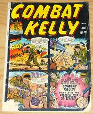 Combat Kelly #1 november 1951 - 1st appearance - atlas comics - korean war