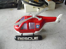 Vintage Buddy L Plastic and Metal Rescue Helicopter LOOK