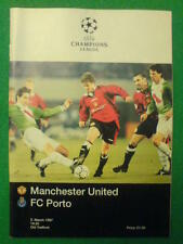 UEFA CHAMPIONS LEAGUE - Manchester Utd v FC Porto - 5 March 1997