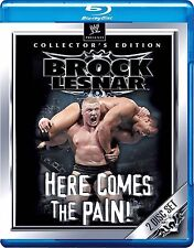 WWE - Brock Lesnar - Here Comes The Pain (Blu-ray, 2012, 2-Disc Set) New RegionB
