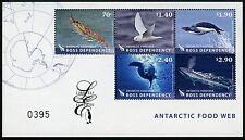 Ross-zona 2013 antartico animali Antarctic Food Limited Edition blocco 10 MNH