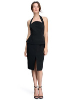 C/MEO Collective Womens Dress Size Medium Black 'These Days Dress' New With Tags