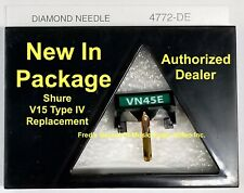 NEW Shure V15 Type IV VN45E Needle Elliptical Diamond Stylus Replacement VN45HE