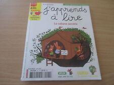 j'apprends a lire n° 92 avril 2007 la cabane secrete