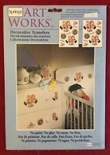 Springs Art Works Decorative Transfers Sweet Cakes #76679 Raggedy Ann and Andy