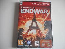 JEU PC DVD-ROM - ENDWAR / TOM CLANCY'S  NEUF