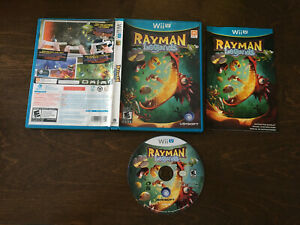 Rayman Legends (Nintendo Wii U) [Complete In Box]