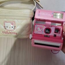 Usato Sanlio Hello Kitty Polaroid 600 Instant Fotocamera Limitata Custodia Buono