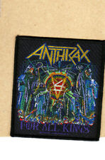 Anthrax - Patch - Woven-Uk Import-For All Kings-Collector's Patch-Licensed New