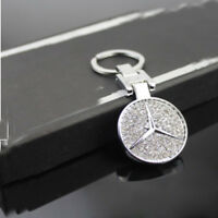 Porte Clé Mercedes Benz - Bijoux Diamanté - Elegante Badge LOGO - Idée Cadeau
