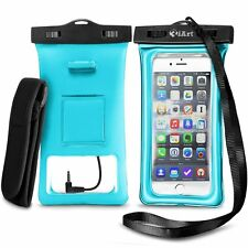 Floatable Waterproof Case Dry Bag with Armband and Audio Jack for iPhone 6, 6 pl