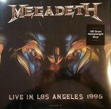 MEGADETH 'Live At Great Olympic Auditorium' LP 180 gram vinyl - FACTORY SEALED