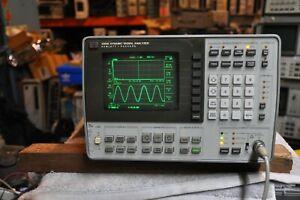 HP 3561A Dynamic Signal Analyzer  Works Well!!