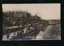 Yorkshire Yorks BRIDLINGTON Beach Terraces 1910 RP PPC