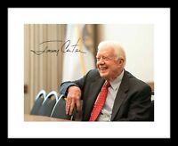 Jimmy Carter Signed 8x10 Photo Print Autographed US President Democrat