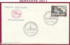 ITALIA FDC CAVALLINO LICEO GINNASIO GIUSEPPE PARINI MILANO 1989 ANN. TORINO U79