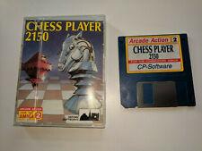 AMIGA DISK RARE JEWEL CASE Game * CHESS PLAYER 2150 *
