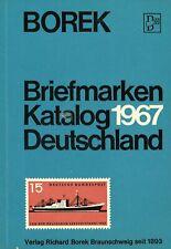 BOREK Katalog Deutschland 1967