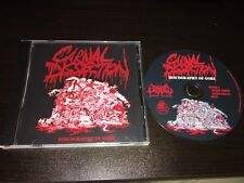 CARNAL DISSECTION Discography Of Gore CD  2012 Sevared  tyrant trooper decrepid