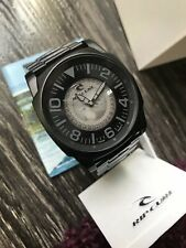 Rip Curl Undercover A2422 Watch Men's Midnight Black Stainless Needs Battery