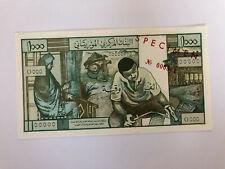 Mauritania 1973 Specimen banknote 1000 Ouguiya UNC