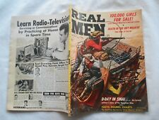 REAL MEN  Magazine-MAY,1957-100,000 GIRLS FOR SALE