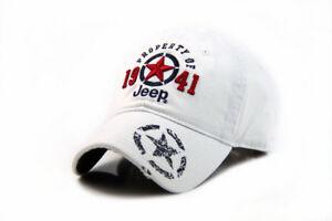 Jeep Hat Women Men baseball Golf Ball Sport Outdoor Casual Sun Cap Adjustable