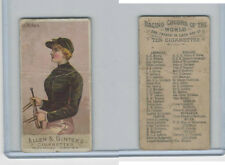 N22 Allen & Ginter, Racing Colors of the World, 1888, D.D. Withers