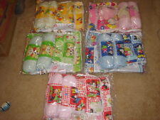 4 pcs baby pillow set with one pillow, two body pillow & waterproof mattress pad