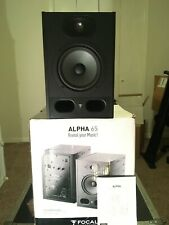 Focal Alpha 65 Active Studio Monitor reference speaker powered nearfield 2-way
